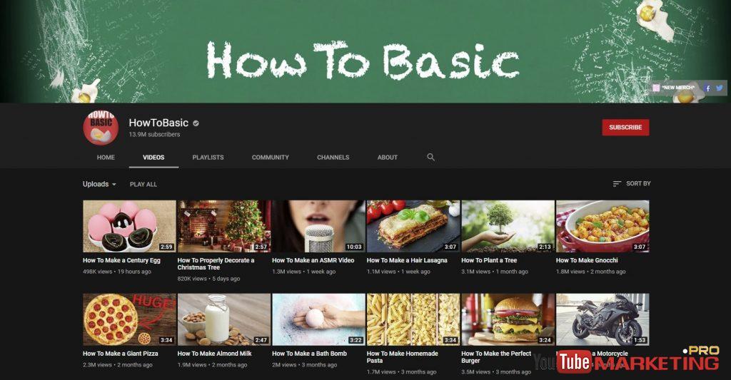 làm thế nào để hướng dẫn cho youtube